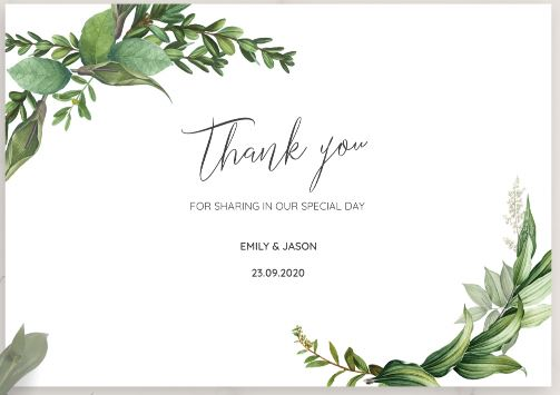 How to Write Thank-You Cards Best Wedding Planning Tips and Tricks 2