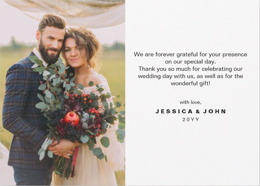 How to Write Thank-You Cards Best Wedding Planning Tips and Tricks 3