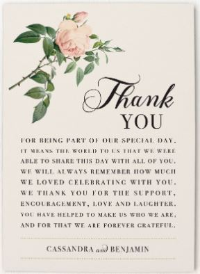 How to Write Thank-You Cards Best Wedding Planning Tips and Tricks 5