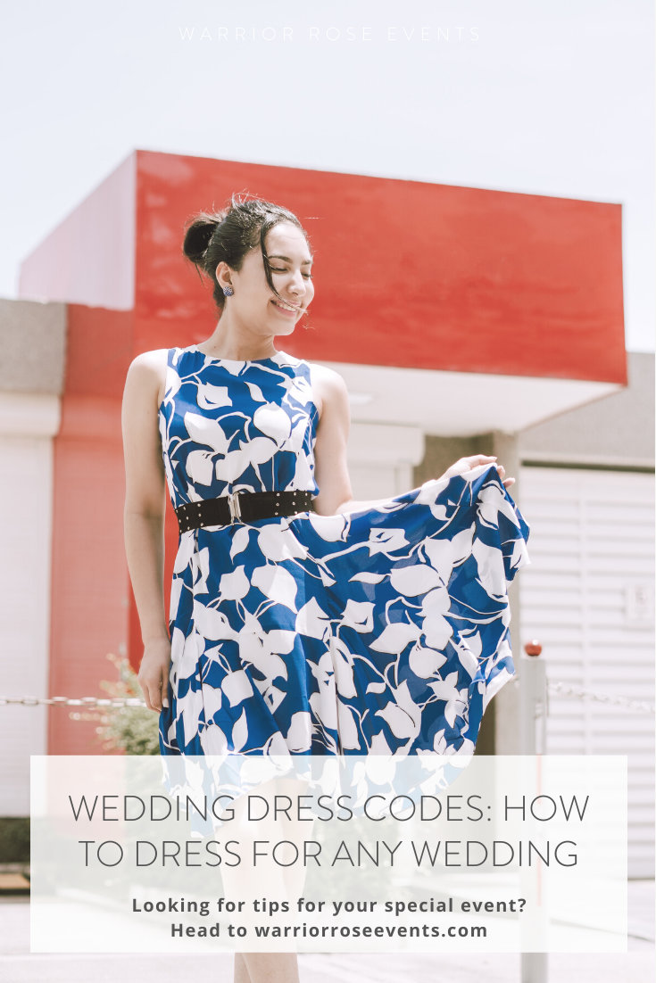 Wedding Guest Outfits How to Dress for Any Wedding Dress Codes 3