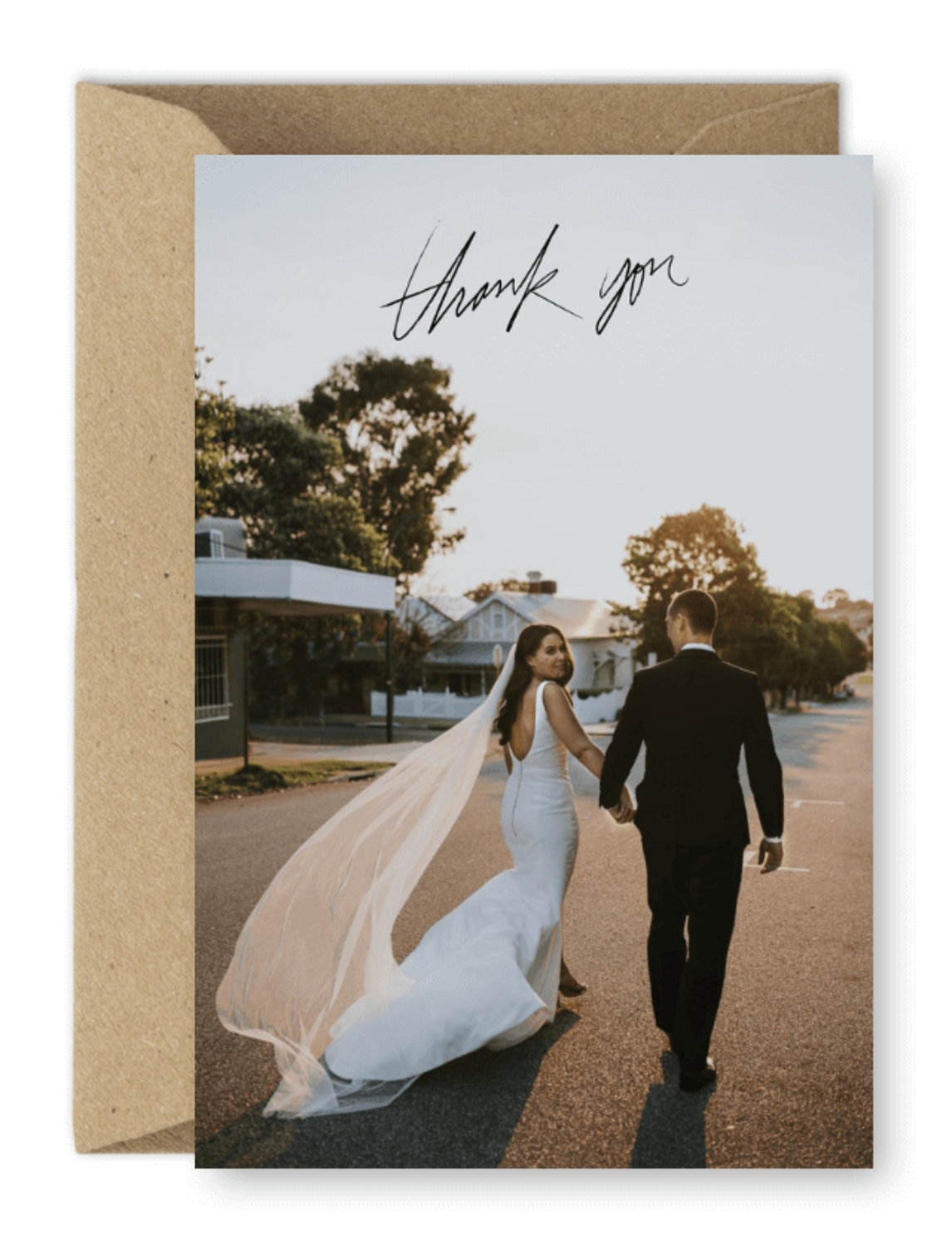 Wedding Thank You Card Liz Jorquera Photographer For the Love of Stationery